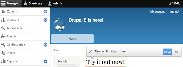 Drupal 8.0.0 发,DRUPAL 7.0升级到DRUPAL 8.0