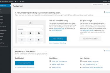 WordPress 4.9.8 发布,官方强烈推荐「古腾堡」Gutenberg编辑器