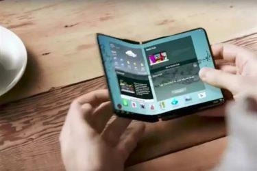 三星首款可折叠屏手机投产:展开后可达7.29英寸