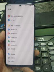 联想z5s正面图像曝光:搭载穿孔屏设计