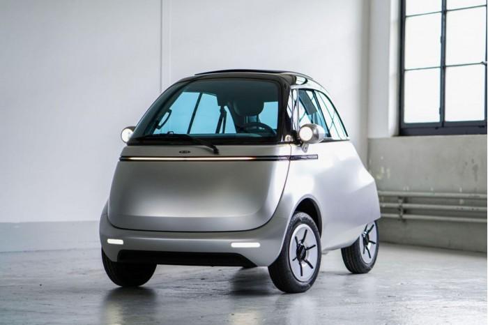 瑞士公司推出全新电动泡泡车Microlino 2.0